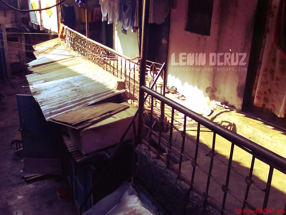 Outside Placid chawl by lenindcruz