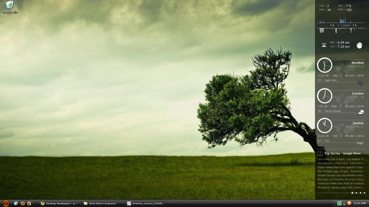 Desktop July2010 by lenindcruz
