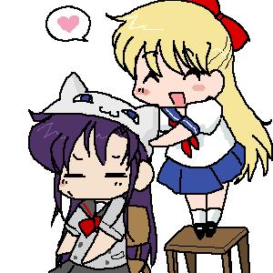 Rei doesn't like neko hats by kato-kun2