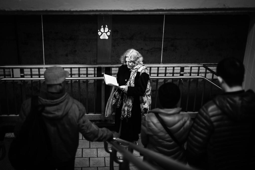 Reading Spot by IFedorovskaya