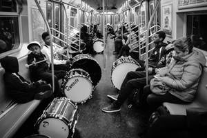 Drums in Train