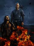 Athelstan and Ragnar Fan art Vikings