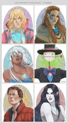 Six Fan Arts Challenge | Camber