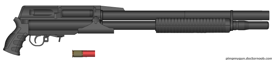 Strahm 12 Guage Shotgun by M60RPD
