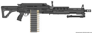 M666 Machine Gun by M60-Carnifex
