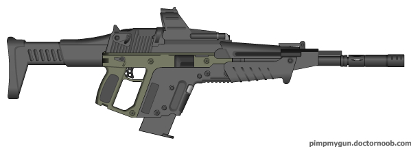 The Druid Combat Rifle by M60RPD