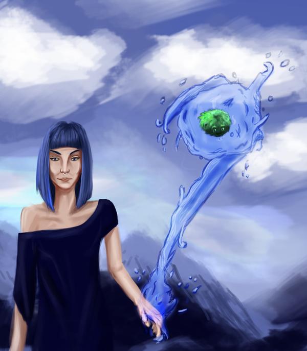Water Witch by XerafCZ