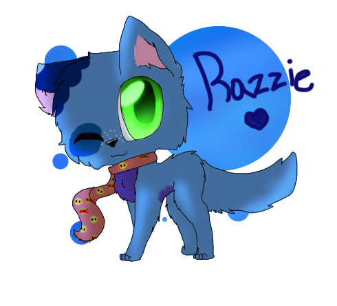 Razzi Chibi for a Contest by StarryBelleAdopts