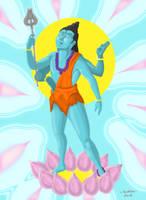 The Gods - Shiva by MadFretsy