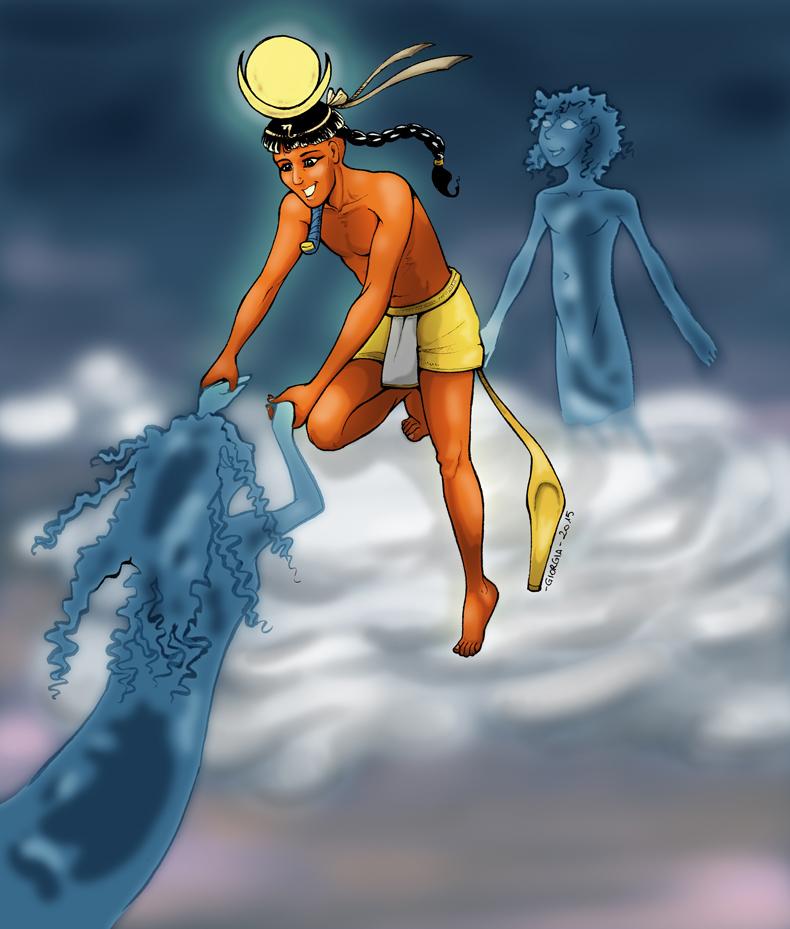 The Gods - Khonsu by MadFretsy