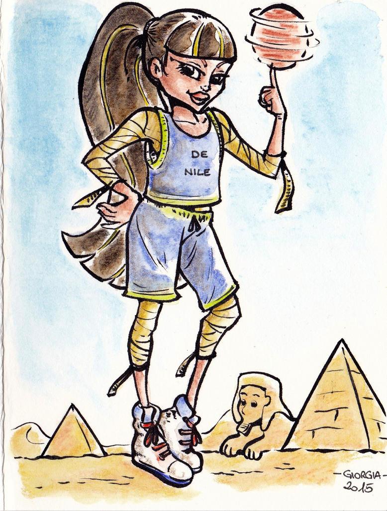 Basketballing in the desert by MadFretsy