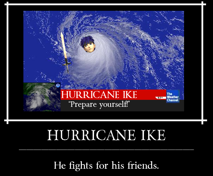 Hurricane Ike by SinKatt