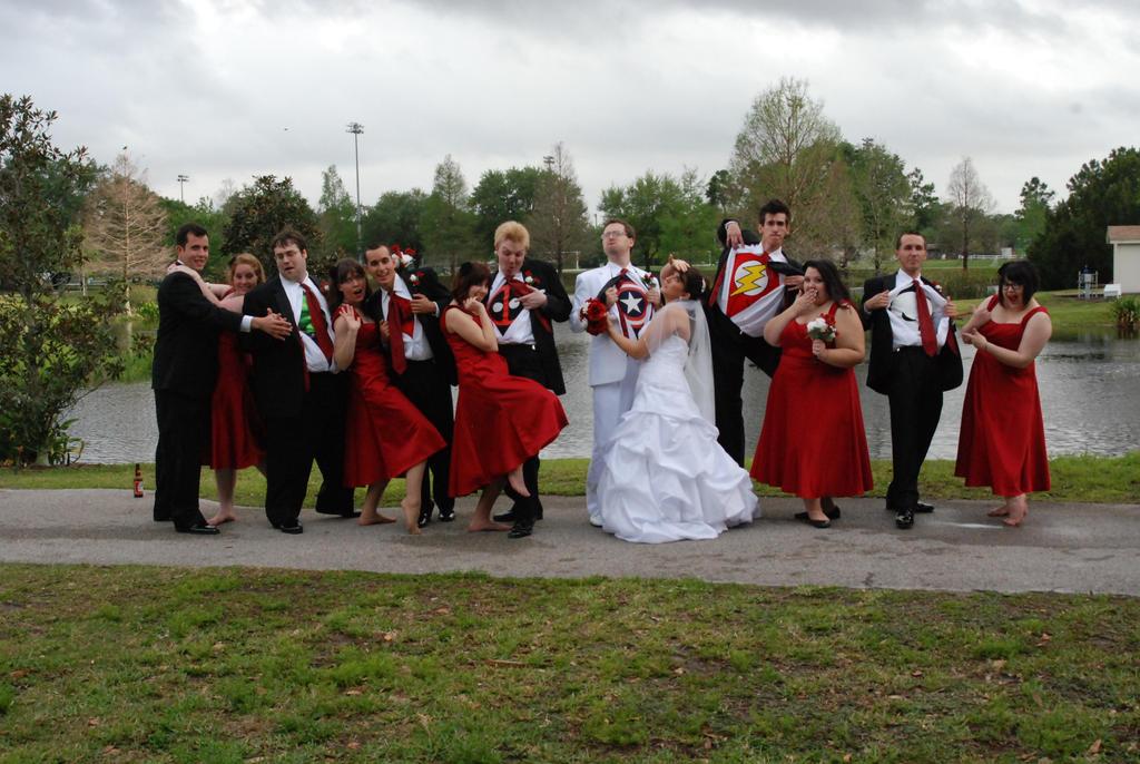 Super Bridal Party by SinKatt