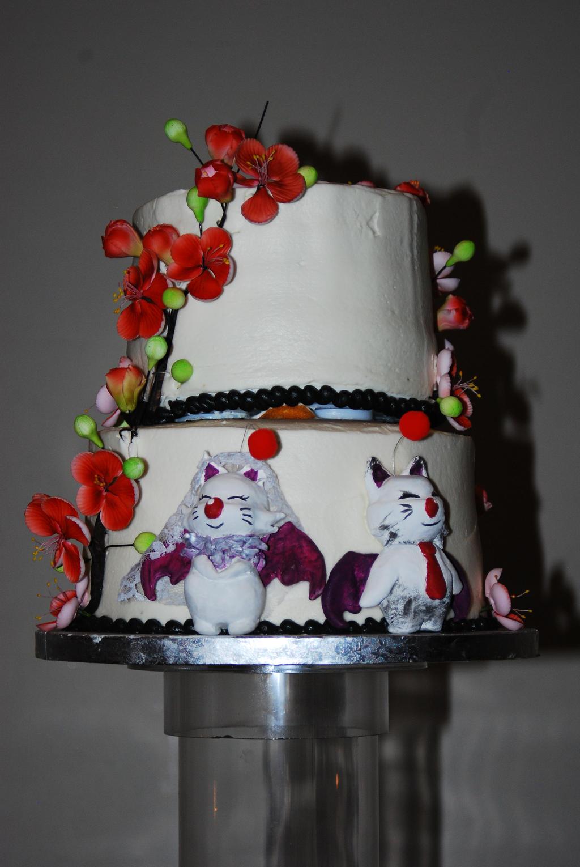 Artist Wedding Cake Toppers : Wedding Photos: Moogle Cake Toppers by SinKatt on DeviantArt