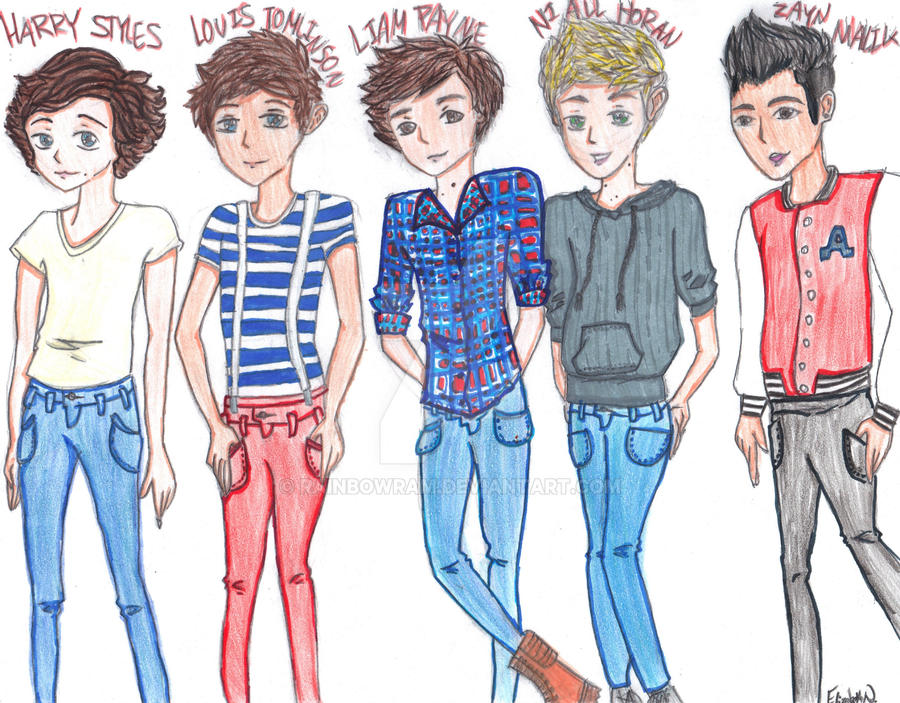 One Direction by RainbowRam