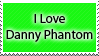 I Love Danny Phantom Stamp