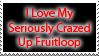 Crazed Up Fruitloop Stamp by DP-Stamps