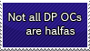 RQ: Not All DP OCs Are Halfas by DP-Stamps
