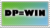 DP equals WIN stamp by DP-Stamps