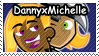 DannyxMichelle stamp by DP-Stamps