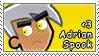 Adrian Spook Stamp by DP-Stamps