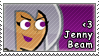 Jenny Beam Stamp by DP-Stamps