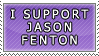 I Support Jason Fenton Stamp by DP-Stamps