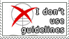 I don't use guidelines stamp by DP-Stamps