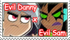 I Support Evil Danny and Evil Sam by DP-Stamps
