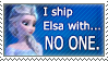 No one for Elsa by DP-Stamps