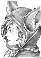 Xayah by hound-from-hell