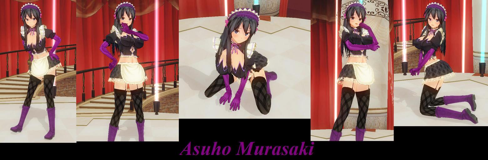 Asuho Murasaki by KamiyaBloodVegeance