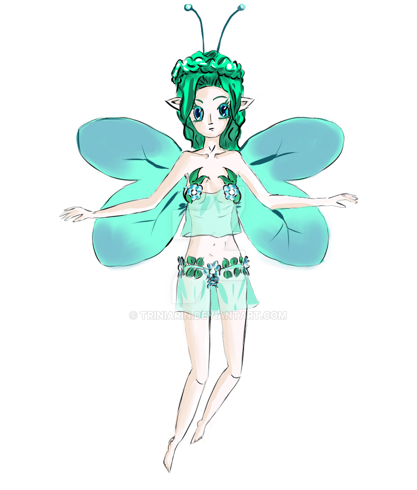 Spring Fairy Ps by Triniarin
