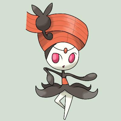 Pokemon Meloetta Siren Form Images   Pokemon Images