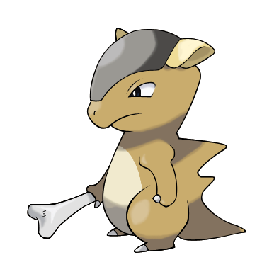 Cubone (Without Mask) by icaro382