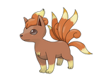 Vulpix - interrupted evo
