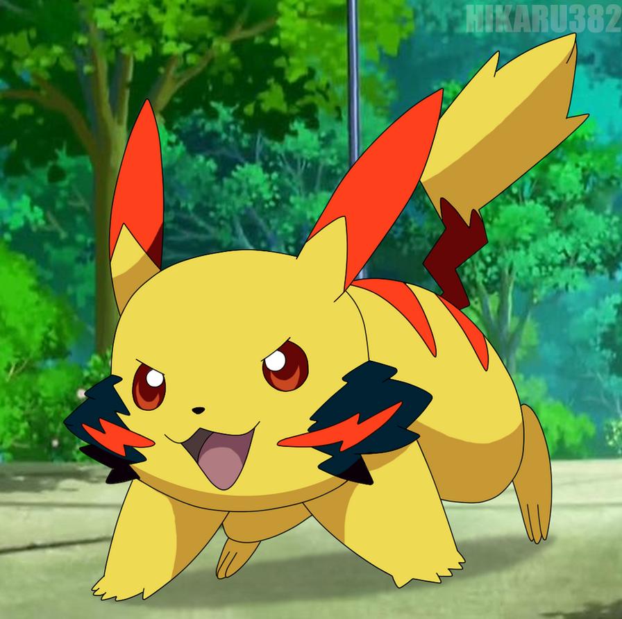 Satoshi Pikachu by icaro382 on DeviantArt