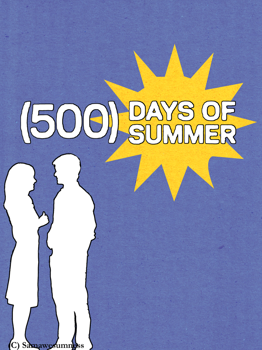 500 Days of Summer by SamAwesumness on deviantART