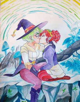 A kiss before battle