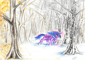 Conjuring the Winter Winds by K-I-A-R-A