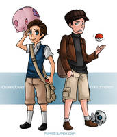 XMFC: As Pokemon Trainers by ozamham