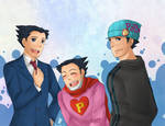 AA: Phoenix Wright Trio