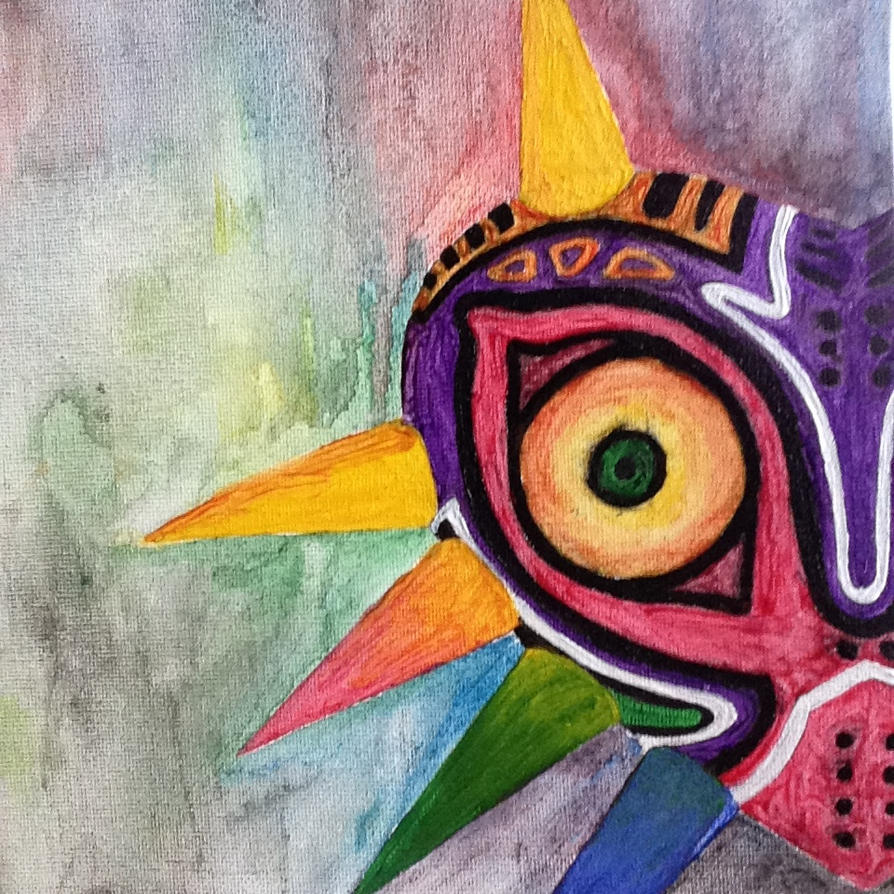 Majora's Mask by DragonEye0905