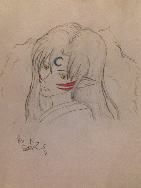 Sesshomaru by DragonEye0905