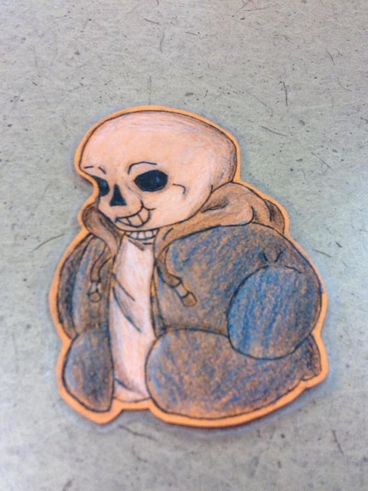 Sans the smol by DragonEye0905