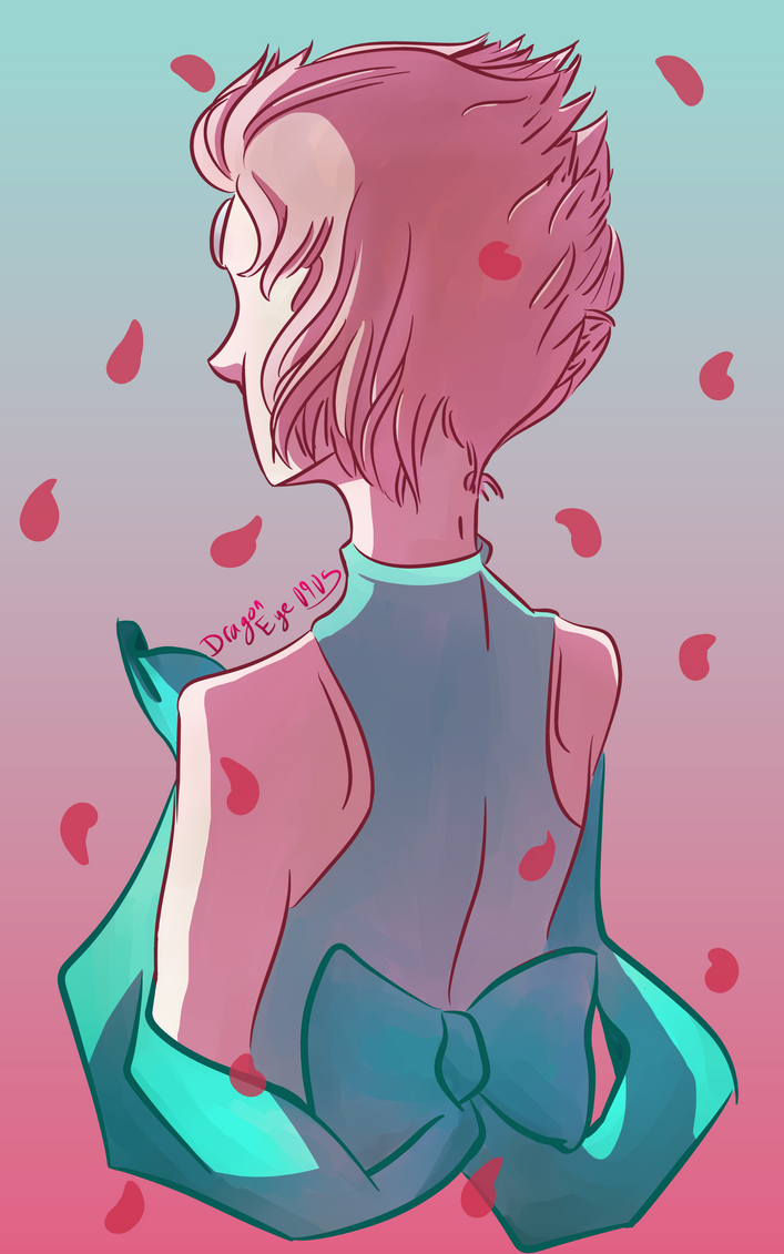 I love Steven Universe. A lot.  And I really like Pearl a lot, too.  I had a lot of fun with this piece! It was fun to draw from an angle that I've never really attempted before. Can...