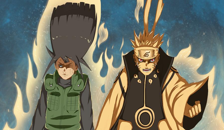 Naruto 615 : naruto and hinata by ilyesgnei