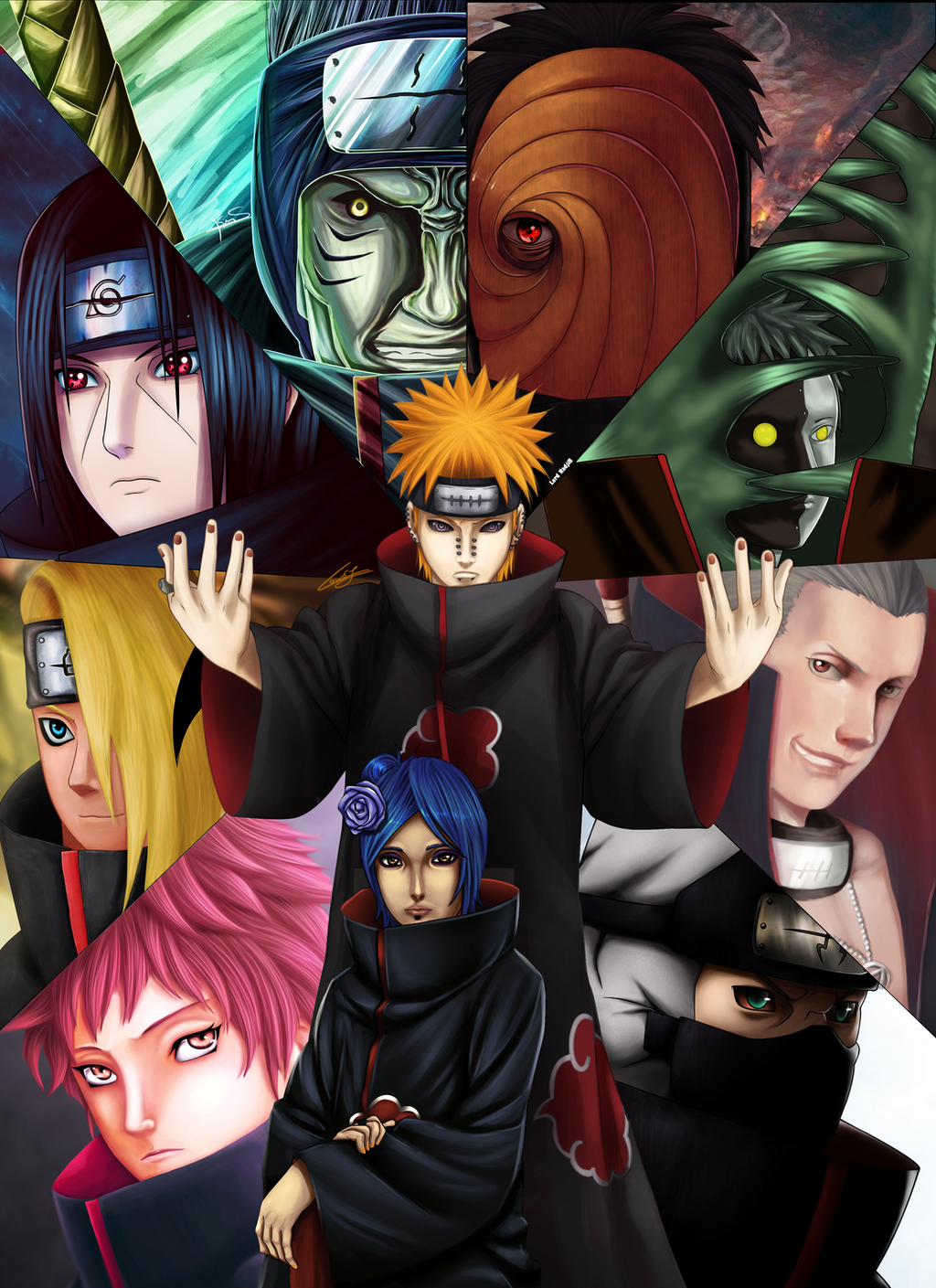 akatsuki collab by ilyesgnei