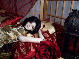 BJD In the Night, I'm waiting for you by darkmousi