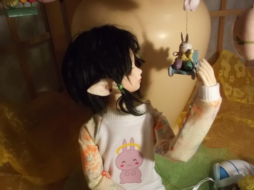 Hi little Bunny by darkmousi